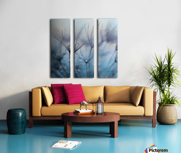 Teardrops Split Canvas print