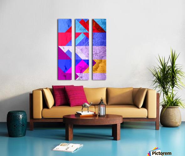 PRO. (9) Split Canvas print