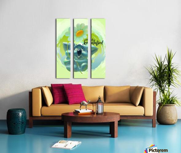Cute Koala Split Canvas print