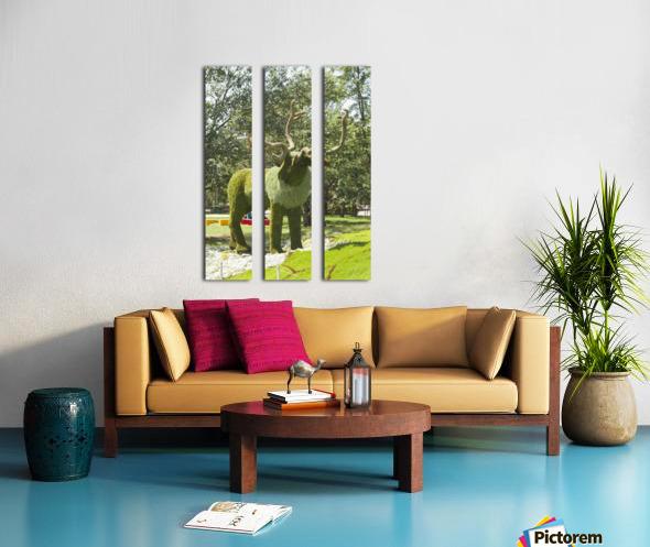 MosaïCanada 150 Display 5 Split Canvas print