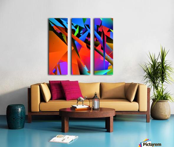 Dimensions -  bY Neil Gairn Adams  Split Canvas print
