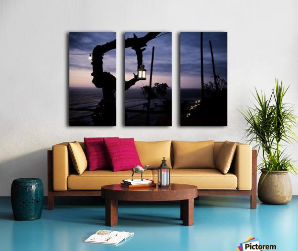 Lanterne de Lima Split Canvas print