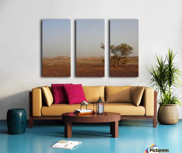 The breakaways South Australia Split Canvas print