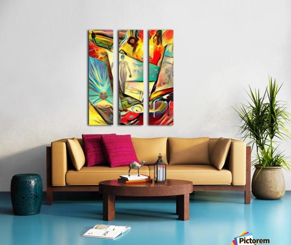 Piece of Mind Split Canvas print