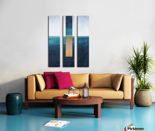 Modern Art I Split Canvas print