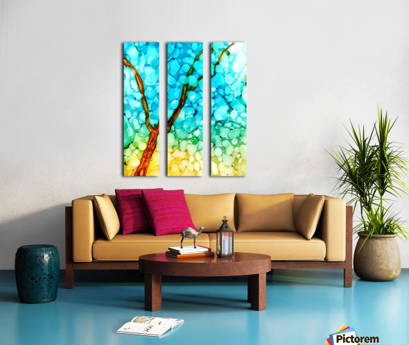 Spring Show2 Split Canvas print