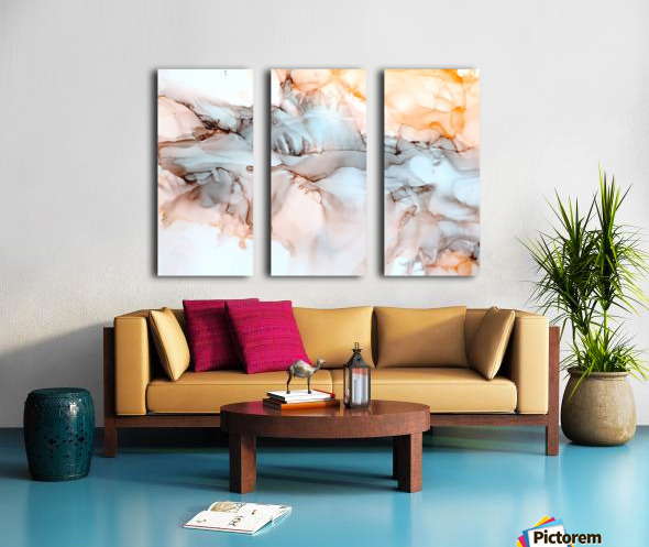 Desert Bluff Split Canvas print