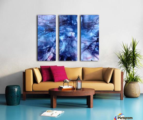 Splash Split Canvas print