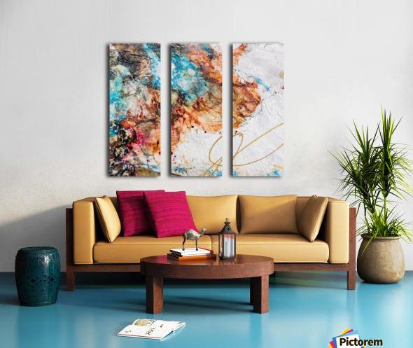 Sophia Six Split Canvas print