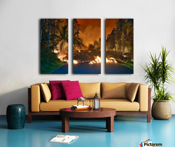 Makamae St Leilani estates Split Canvas print