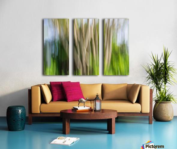 Moving Trees 30 Landcape 52 70 200px Split Canvas print