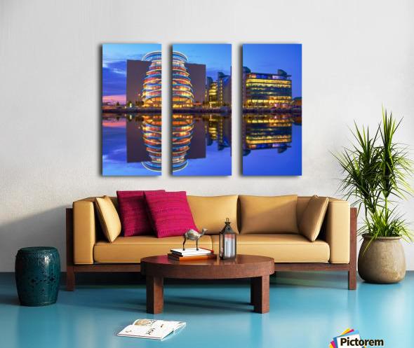 D 249 Convention Centre Split Canvas print