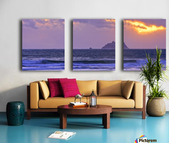 KY 280 Ballinskelligs Bay  Split Canvas print