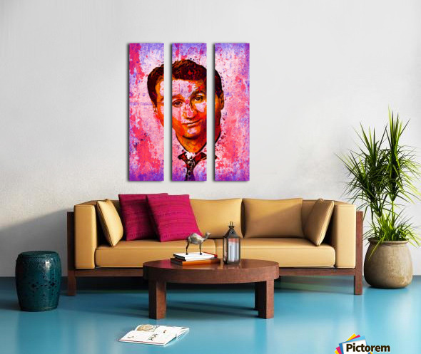 AL BUNDY Split Canvas print