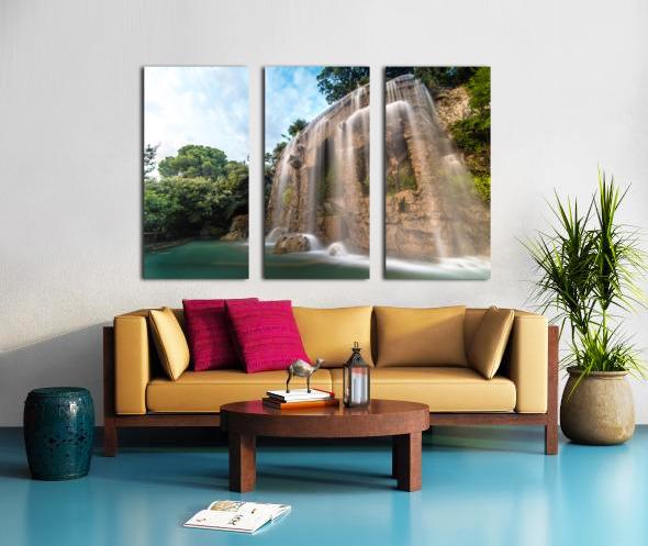 Fontaine de Nice Split Canvas print