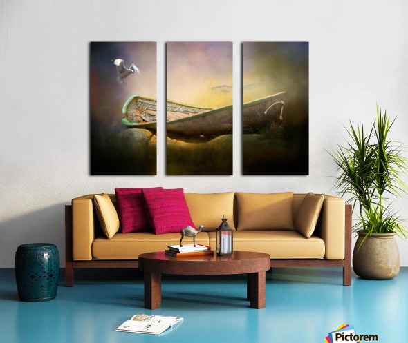 Old but not forgotten Split Canvas print