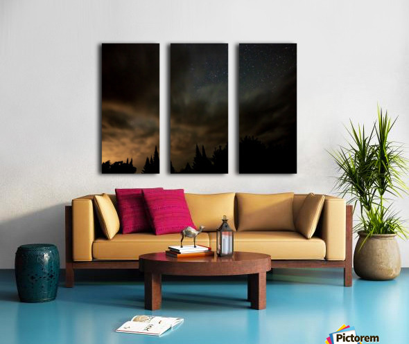 Portal Split Canvas print