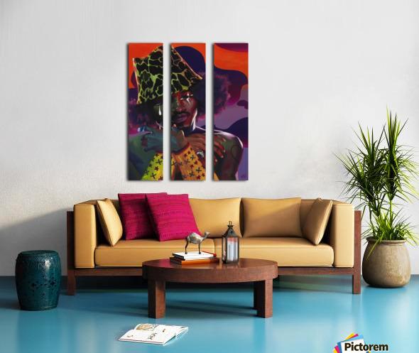 3000 AND BEYOND Split Canvas print