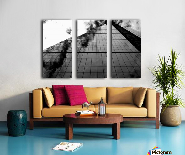The Skyscraper Split Canvas print