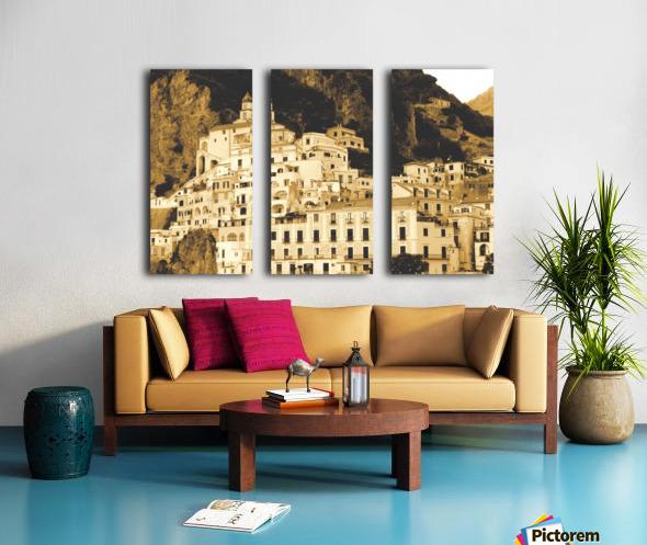 Landscape - Amalfi Village - Italy Split Canvas print