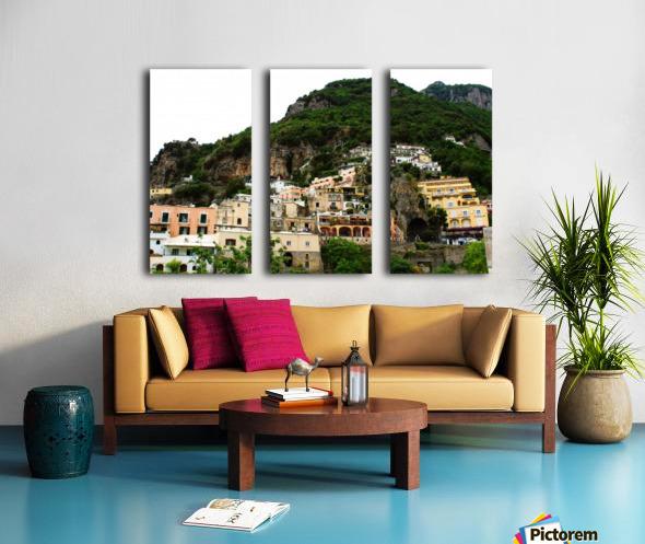 Landscape - Beautiful Village - Italy Split Canvas print