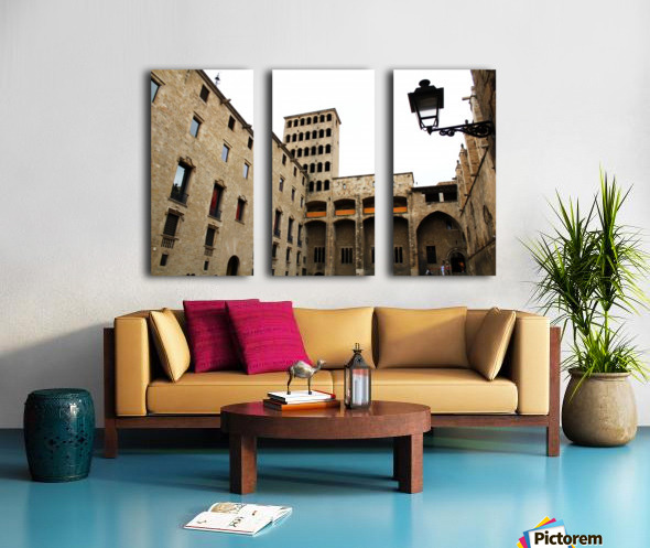 Gothic Quarter - Catalunya - Spain Landmark Split Canvas print