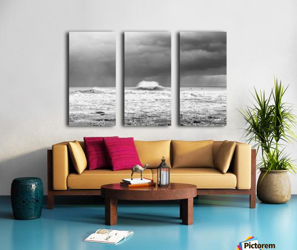 ROGUE WAVE Split Canvas print