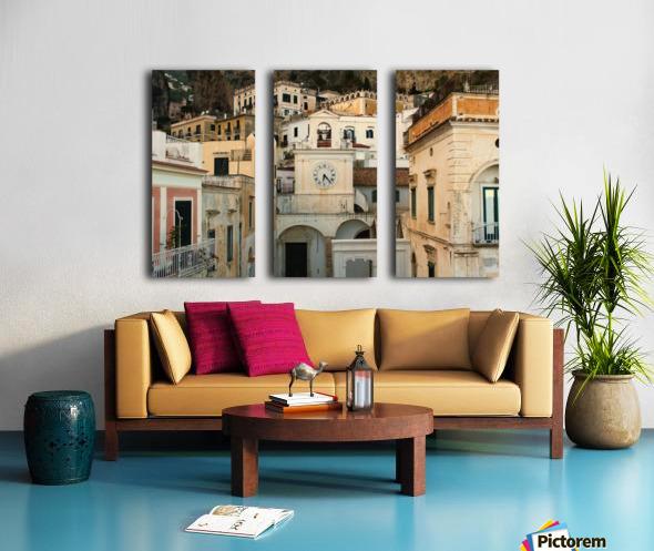 Church Clock - Italy  Toile Multi-Panneaux