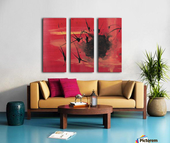 This is my Hell Split Canvas print