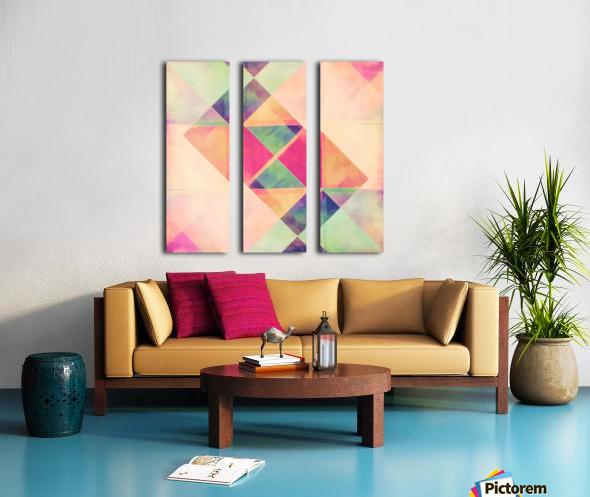 Balancing Act Split Canvas print