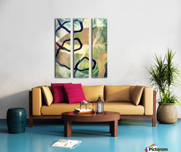 Caprice Split Canvas print