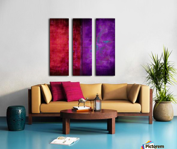 Dualities Split Canvas print