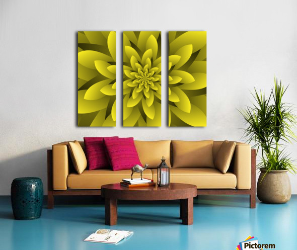 Spring Floral Split Canvas print