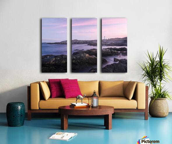Beacons of lights Split Canvas print
