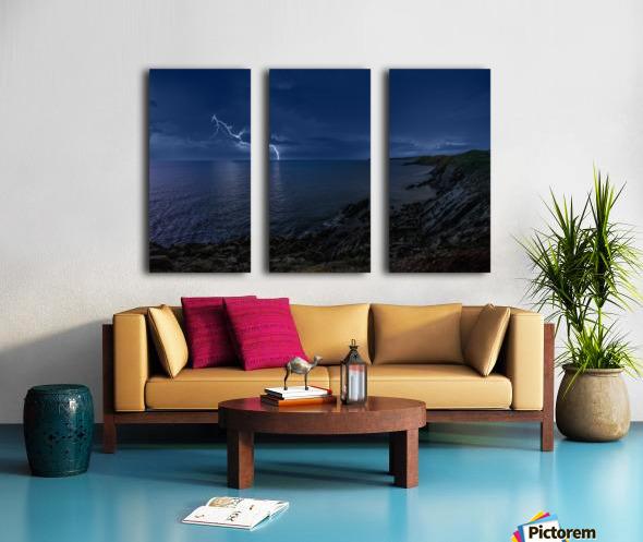 Stormynight Split Canvas print