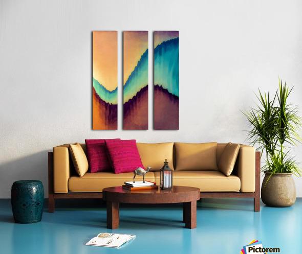Proboscidean Dreamscape Split Canvas print