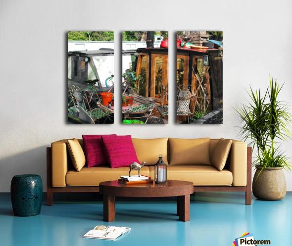 Home Sweet Home Split Canvas print
