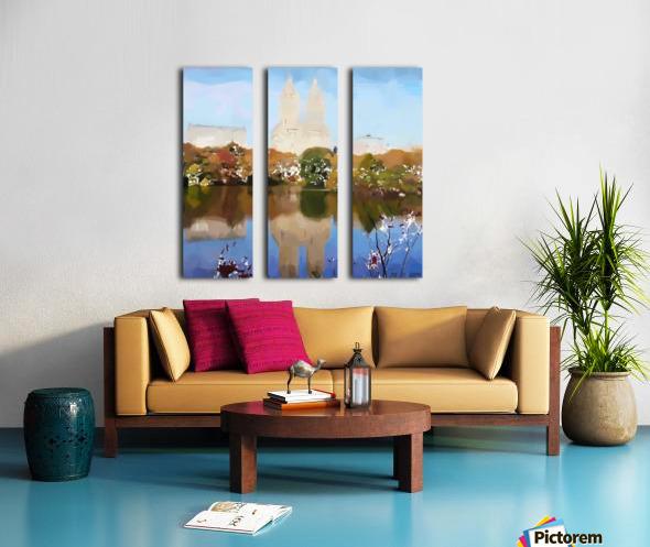 NY_CENTRAL PARK_View 054 Split Canvas print