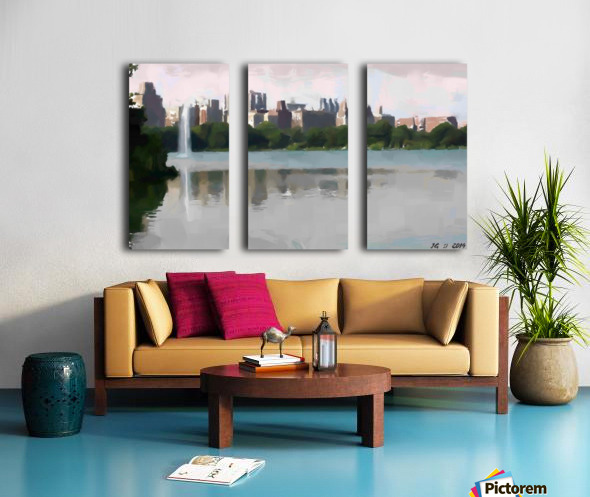 NY_CENTRAL PARK_View 061 Split Canvas print