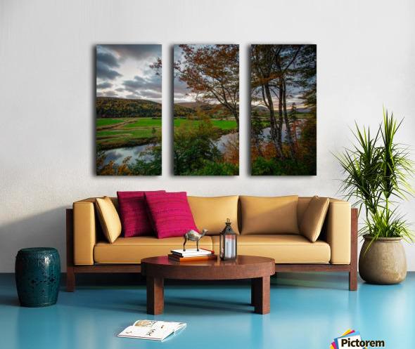 Serene Valley Split Canvas print
