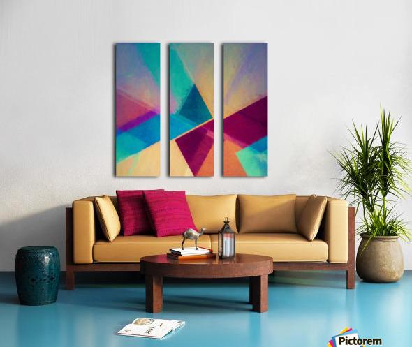 Obliquities Split Canvas print