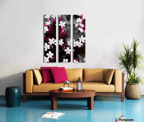 White bloom Toile Multi-Panneaux