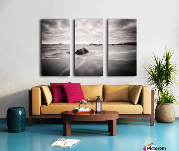 Peaceful Shore Split Canvas print