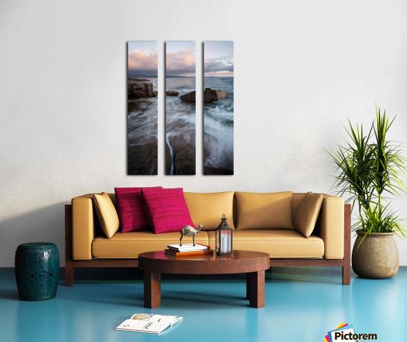 Rift Split Canvas print