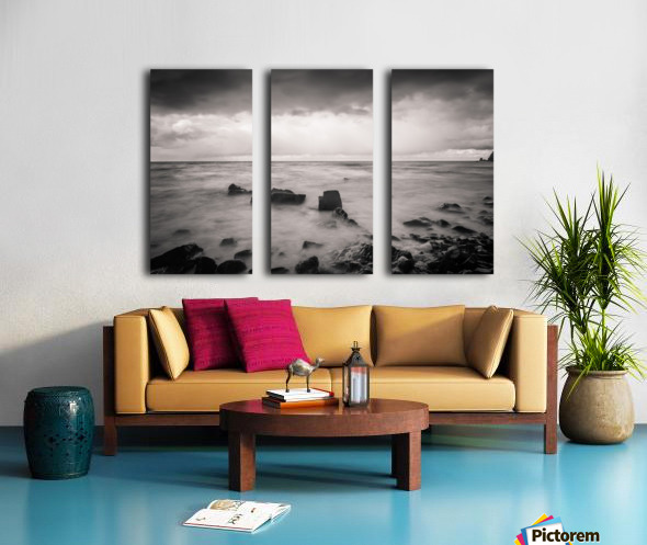 Kinarama Split Canvas print