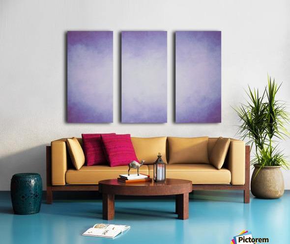 Lilac Mist Split Canvas print