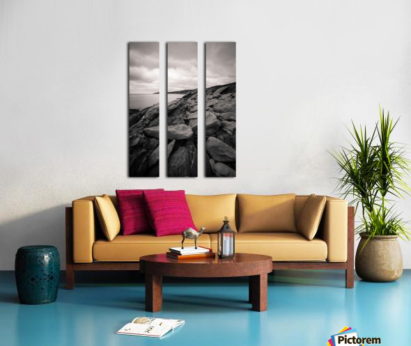 Gloomy days Split Canvas print