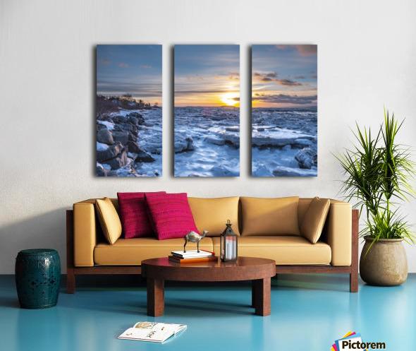 Winter contrast Toile Multi-Panneaux