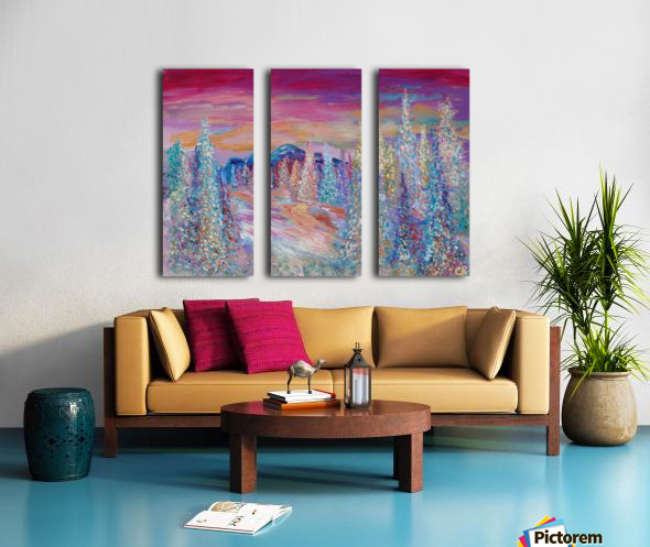 San Juan Mountains Colorado Split Canvas print