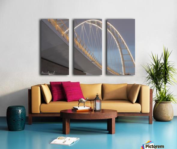 Walterdale_Bridge_NIK9887 Split Canvas print